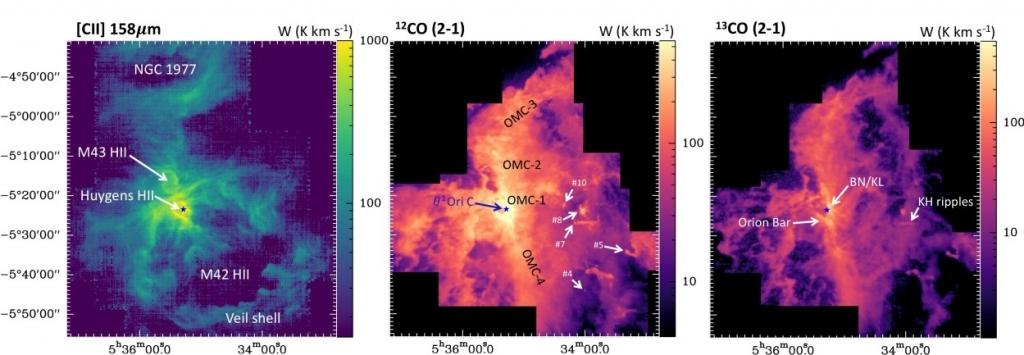Imágenes de la Nebulosa de Orión (M42)